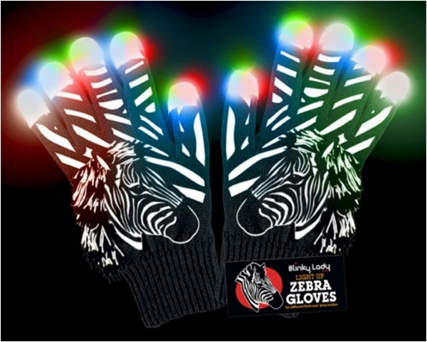 zebra-led-light-up-gloves-with-fluffy-mane