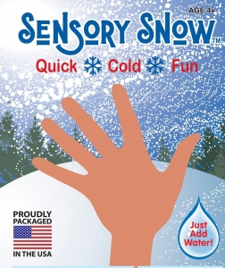 Sensory Snow!  Just Add Water!