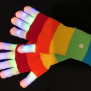 Rainbow Gloves -