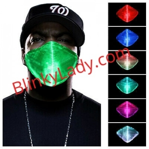 USB Fiber Optic Mask - Color Chart - Marked