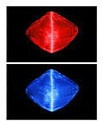 USB Fiber Optic Mask - Red Blue